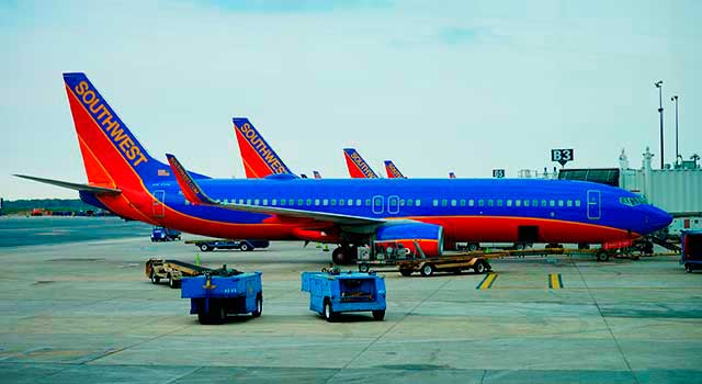Baltimore–Washington Airport is a focus city for Southwest Airlines.
